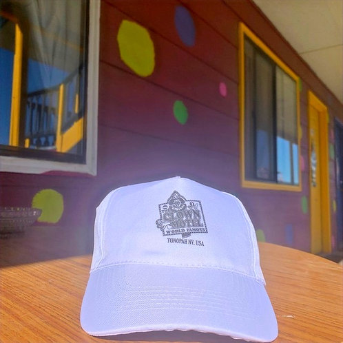 Clown Motel Hat, White