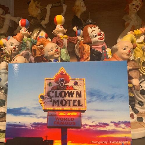 Clown Motel Postcard 1