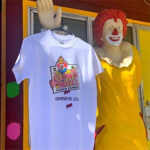 Clown Motel T-Shirt, White