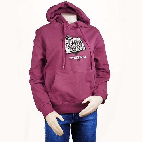 Hooded Sweat Shirt -Purple