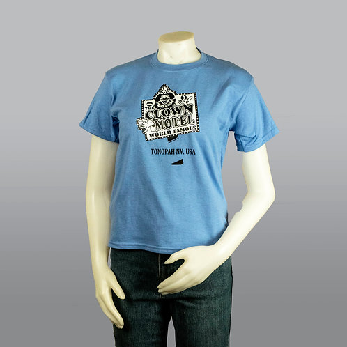 Kids T Shirt - Blue with Black and White Logo