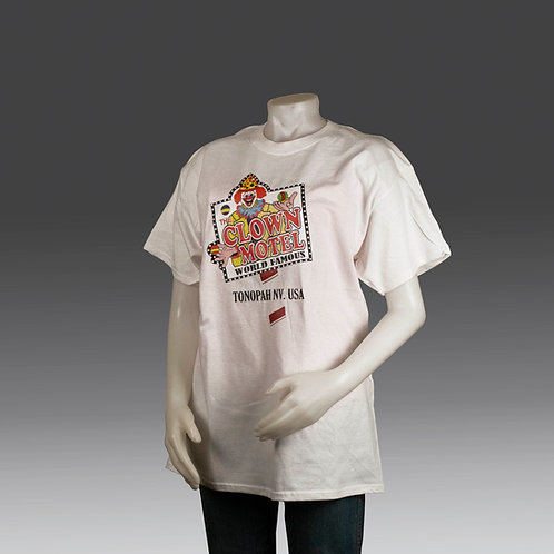 T Shirt - White with Color Logo
