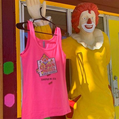 Clown Motel Tank Top, Pink