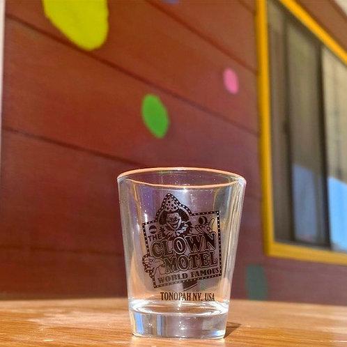 Clown Motel Shot Glass
