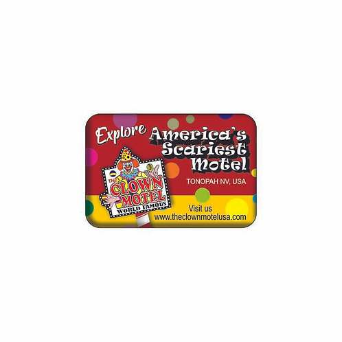 Rectangle Magnet - Red (2x3)