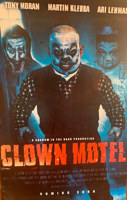 Clown Motel Poster