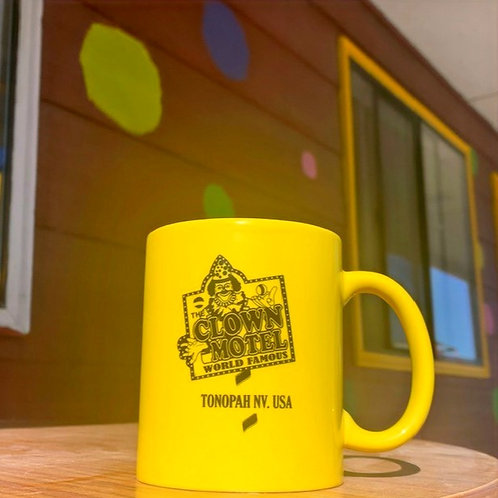 Clown Motel Mug - Yellow