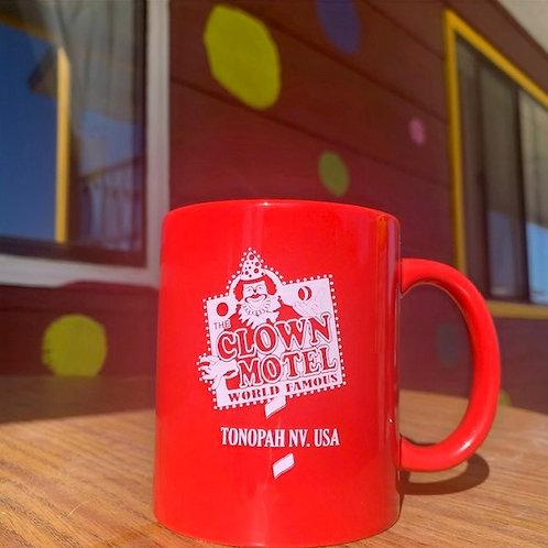 Clown Motel Mug - Red