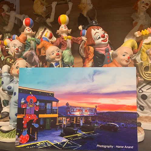 Clown Motel Postcard 3
