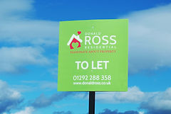 Effective signage design for estate and letting agency