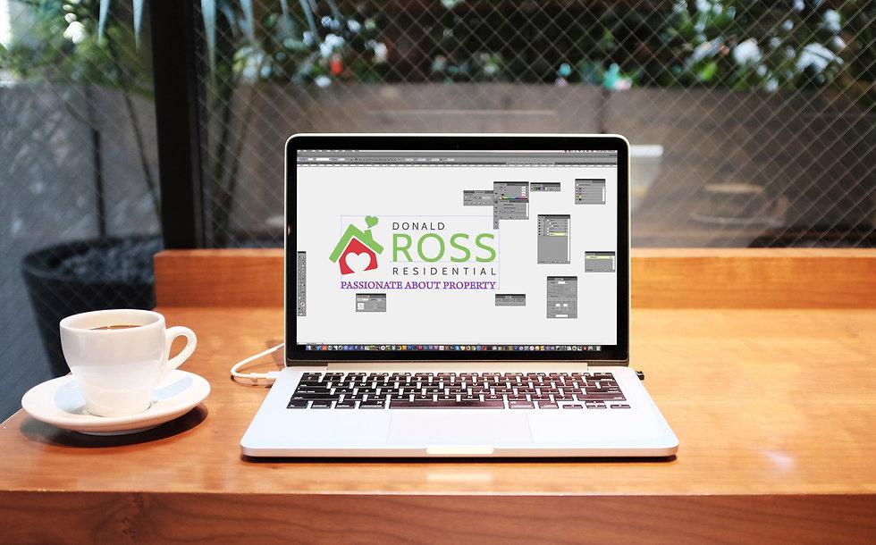 Rebranding logo design process