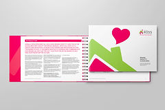 Estate and letting agency brand guidelines afer rebrand