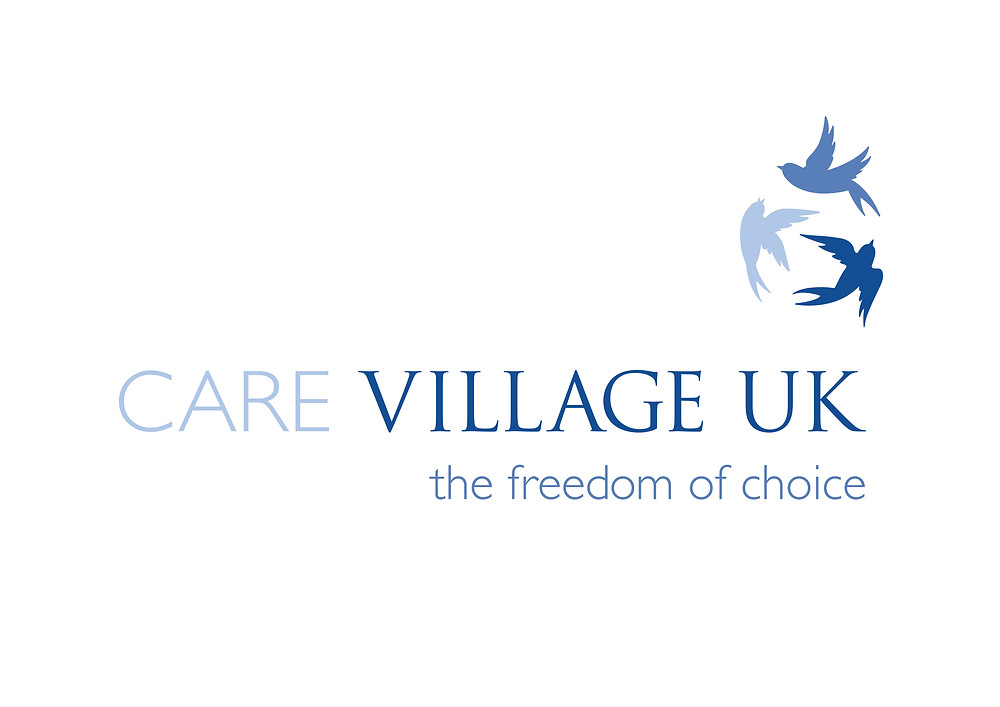 care village uk's logo designed by Propel Marketing & Design shows that blue is often associated with the healthcare industry