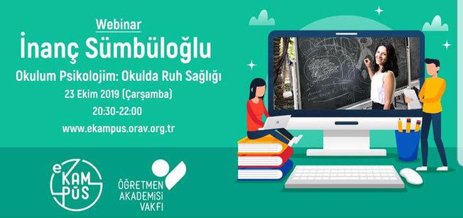 ÖRAV e-kampüs: Okulda Ruh Sağlığı