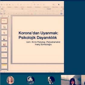 Korona'dan Uyanmak / Pandemi ve Çevrimiçi Buluşmalar