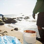 Очистка пляжа