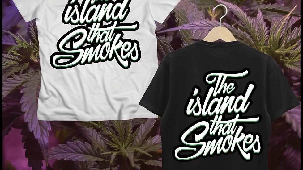 Teneweedfe T-Shirt -The Island That Smokes (Insta)