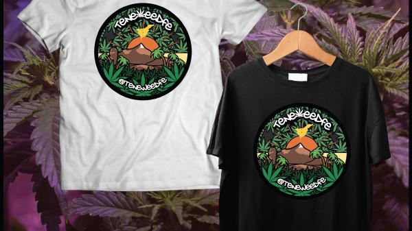 Teneweedfe T-Shirt (Logo Image)