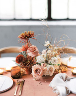 Flower Centerpiece without Vase