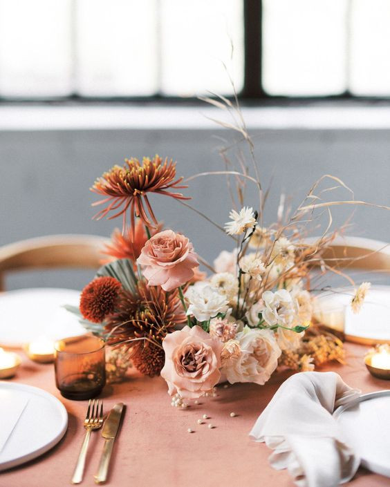 Flower Centerpiece without Vase