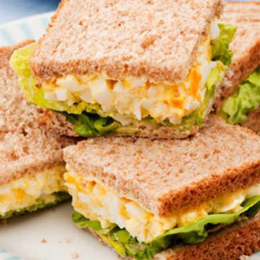 Mini finger sandwiches