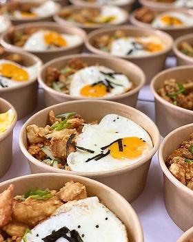 8-Kimchi Fried Rice with Korean Chicken.