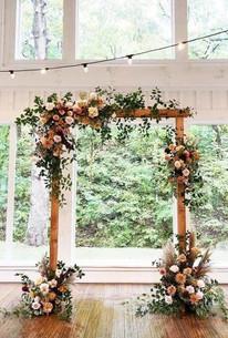 Wooden Flower Arch