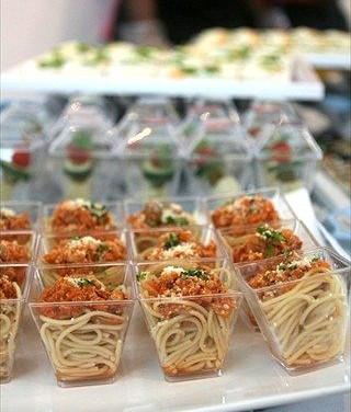 Spaghetti in cup