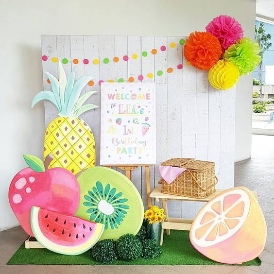 Printed Backdrop with Printed Standees