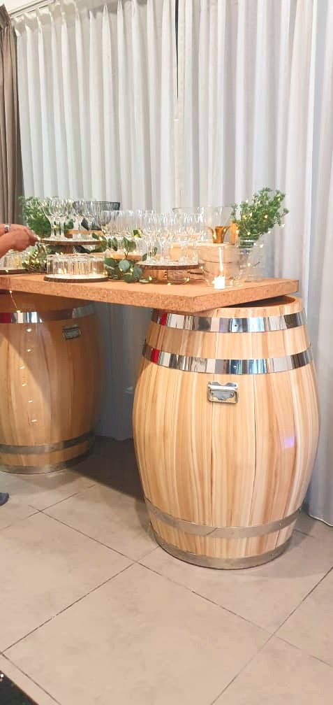 Barrels based with Table Top