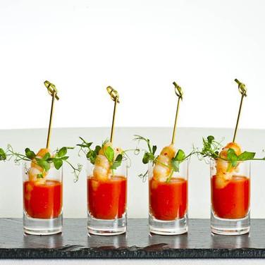 Tomato prawn