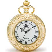 Pocket Watch Vintage Gift - Gold