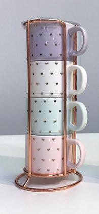Gift Mug - Cappucino Mugs Set#2