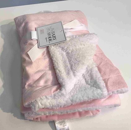 Baby Blanket Girl Plain