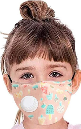 Kids Face Mask with valve & Filter