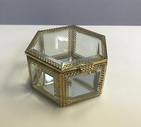 Jewelry Box - JB005 Hexagonal