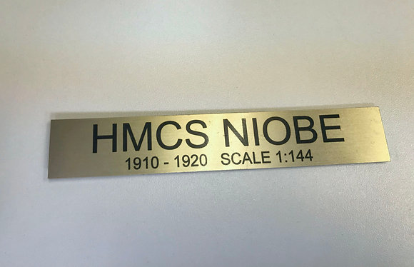 Engraving Plates - Gold Color