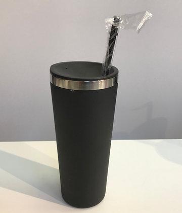 Custom Stainless Steel Tumbler Black