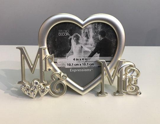 Frame - Metal - Wedding Heart -  FM003
