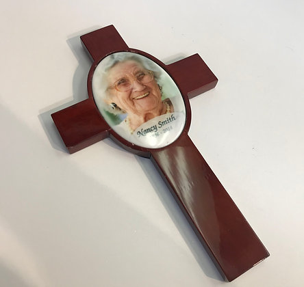 Custom Memorial Cross