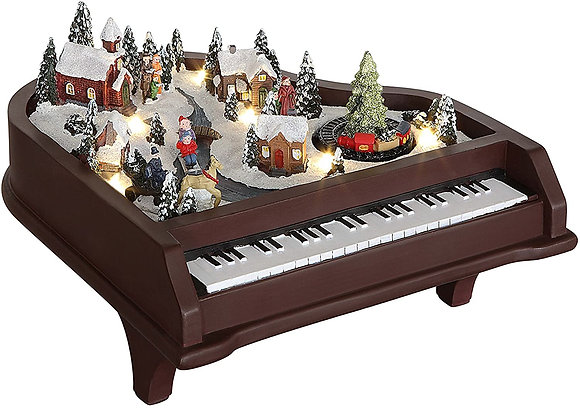 Christmas Animated Musical Piano