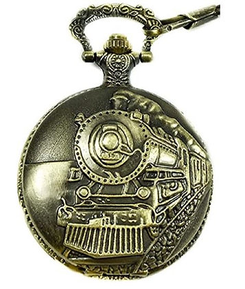 Railroad Train Pocket Watch - 150th Canada