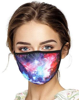 Standard Face Mask full colors pattern