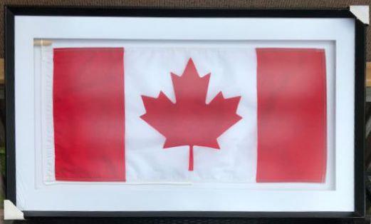 Wide Canada Flag Frame