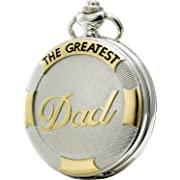 Pocket Watch Vintage Gift  for Dad