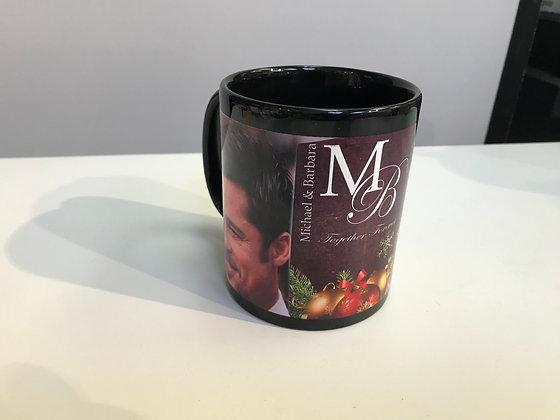 Customized Black Mug 11Oz- Full Wrap