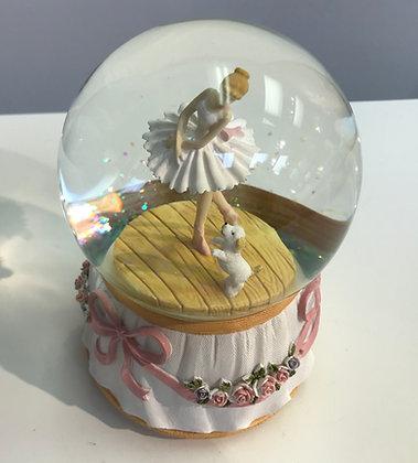 Snow Globe Ballerina Musical