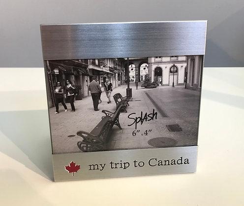 Frame - My trip to Canada