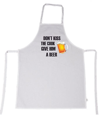 Apron - Don't Kiss The Cook Give Him a Beer
