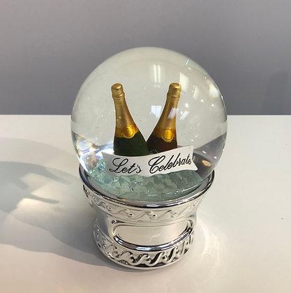 Wedding Snow Globe - Let's celebrate